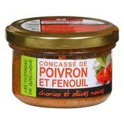 Конкассе из болгарского перца и фенхеля с колбасой чоризо и маслинами Ducs de Gascognе 90 гр, фото 1