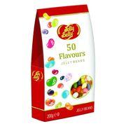 Ассорти 50 вкусов Jelly Belly 200 г картонная коробка, фото 1
