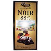 Шоколад горький 88% какао Klaus 100 гр, фото 1