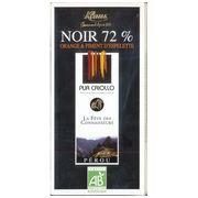 Шоколад горький с какао из Перу с апельсином и перцем Klaus 100 гр, фото 1
