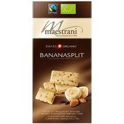 Белый шоколад с бананом, миндалём и шоколадной стружкой Maestrani 80 гр, фото 1