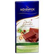 Молочный шоколад Изысканный лесной орех Movenpick 70 гр, фото 1