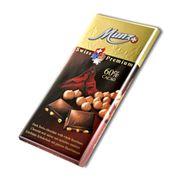 Горький шоколад 60% какао с обжаренным фундуком Munz 100 гр, фото 1
