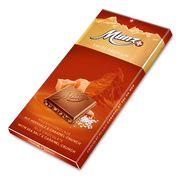 Молочный шоколад с карамелизированным фундуком и морской солью Munz 100 гр, фото 1