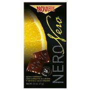 Горький шоколад с лимоном и имбирём Novi 75 гр, фото 1