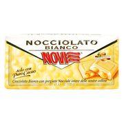 Белый шоколад с целыми лесными орехами Novi 130 гр, фото 1