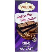 Молочный шоколад без лактозы с сахаром Valor 100 гр, фото 1