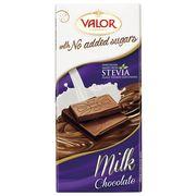 Молочный шоколад без сахара Valor 100 гр, фото 1