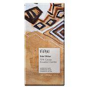 Шоколад органик горький 70% какао из Эквадора/Кариб Vivani 100 гр, фото 1