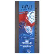 Шоколад органик молочный 37% какао из Эквадора/Кариб Vivani 100 гр, фото 1
