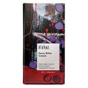 Шоколад органик горький с начинкой из черной смородины Vivani 100 гр, фото 1