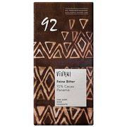 Шоколад органик горький 92% какао с кокосовым сахаром Vivani 80 гр, фото 1