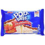 Печенье с начинкой клубника Frosted Strawberry Pop-Tarts 104 гр, фото 1