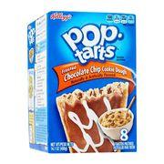 Печенье с начинкой шоколадные чипсы и крошка печенья Cookie Dough Pop-Tarts 400 гр, фото 1