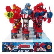 Герой Мстители с вентилятором и конфетами Candy Fan 15 гр, фото 1