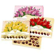 Коробка конфет Шоколадные Секреты Тюльпаны Solidarnosc 238 гр, фото 1