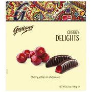 Мармелад в шоколаде Вишня Веселые фрукты Goplana 190 гр, фото 1