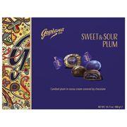 Коробка шоколадных конфет слива в шоколаде Sweet and Sour Plum Goplana Goplana 400 гр, фото 1