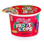Готовый завтрак с маршмеллоу в чашке Froot Loops Kellogg's 42 гр, фото 1