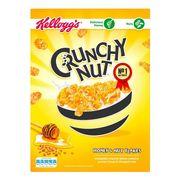 Сухой завтрак хлопья с медом и орехами Crunchy Nut Kelloggs 375 гр, фото 1