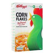 Сухой завтрак кукурузные хлопья Corn Flakes Kelloggs 375 гр, фото 1