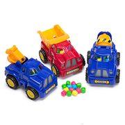 Строительные машины и конфеты Cone Zone Kidsmania 6 гр, фото 1
