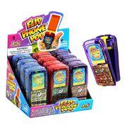 Телефон раскладушка и леденец Flip Phone Pop Kidsmania 30 гр, фото 1