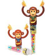 Обезьянка с тарелками и конфетами Wacky Monkey Kidsmania 12 гр, фото 1