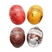 Шоколадные яички горького шоколада с кремовой начинкой La Suissa 100 гр, фото 1