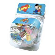 Жевательные конфеты ассорти сфера LOVE IS 60 шт x 25 гр, фото 1