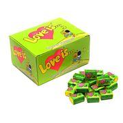 Жевательная резинка Яблоко Лимон LOVE IS 4,2 гр x 100 шт, фото 1