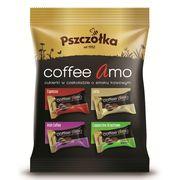 Карамель в шоколаде Кофейное ассорти Coffee Amo Pszczolka 100 гр, фото 1