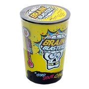 Самые кислые леденцы желтая банка 4 вкуса Brain Blasterz 48 гр, фото 1