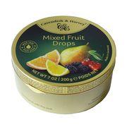 Леденцы ассорти фруктов Mixed Fruit Drops Cavendish and Harvey 200 гр, фото 1