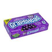 Драже со вкусом винограда Grape Candy Grapehead 23 гр, фото 1