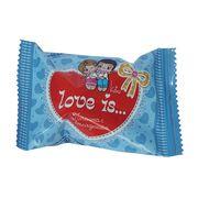 Печенье с вкладышем о дружбе и любви LOVE IS 6 гр, фото 1