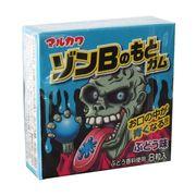 Жвачка Зомби виноград красит язык в синий 8 шаров Marukawa 11 гр, фото 1
