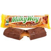 Шоколадный батончик Simply Caramel Milky Way 54 гр, фото 1