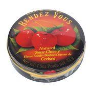 Леденцы Кислая Вишня Sour Cherry Rendez Vous 43 гр, фото 1