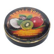 Леденцы Тропические фрукты Tropical Fruit Rendez Vous 43 гр, фото 1