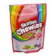 Драже ассорти 5 вкусов Fruits Skittles Chewies 152 гр, фото 1