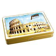 Коробка шоколадных конфет Города Италии Sorini 245 гр жесть, фото 1