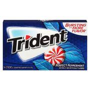 Жевательная резинка Идеальная мята Perfect Peppermint Trident 28 гр, фото 1