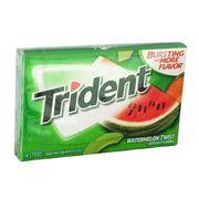 Жевательная резинка Дыня Арбуз Watermelon Twist Trident 28 гр, фото 1