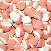 Жевательный мармелад Клубника со сливками Trolli 1 кг, фото 1