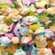 Мармелад на развес Фруктовый микс сладкий Trolli 100 гр, фото 1