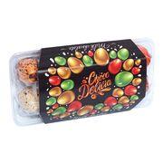 Перепелиные яйца шоколад в глазури с начинкой джандуйя Choco Delicia 135 гр, фото 1