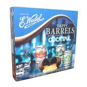 Коробка шоколадных конфет с ликером Happy Barrels Cocktail E.Wedel 200 гр, фото 1