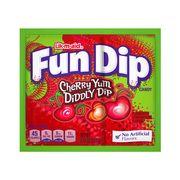 Леденец с шипучим порошком вишня Fun Dip Wonka 12,1 гр, фото 1