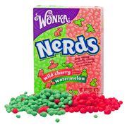 Жевательные конфеты Cherry Watermelon Nerds Wonka 46,7 гр, фото 1